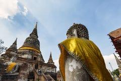 Wat Yai Chai Mongkhon, Ayutthaya, Tailandia Fotografia Stock