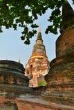 Wat Yai Chai Mongkhon temple. Ayutthaya. Thailand Stock Image