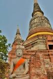 Wat Yai Chai Mongkhon temple. Ayutthaya. Thailand Stock Photo