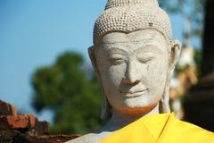Wat Yai Chai Mongkhon Temple em Ayutthaya, Tailândia Fotografia de Stock