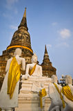 Wat Yai Chai Mongkol Royalty Free Stock Photography