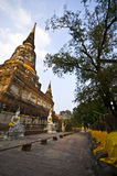 Wat Yai Chai Mongkol Royalty Free Stock Photos