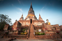 Wat Yai Chai Mongkol Fotografía de archivo