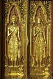 Wat Yai Chai Mongkol Fotos de Stock Royalty Free
