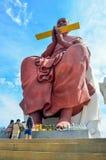 Wat Yai Chai Mongkol Imagem de Stock Royalty Free