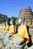 Wat Yai Chai Mongkol Royalty Free Stock Image