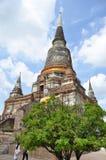 Wat Yai Chai Mongkol in Ayutthaya Royalty Free Stock Photography