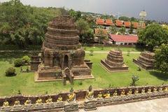 Wat Yai Chai Mongkol in Ayutthaya in Thailand. Wat Yai Chai Mongkol Buddhist temple in Ayutthaya in Thailand Stock Photography