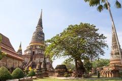 Wat Yai Chai Mongkol, Ayutthaya, Thailand Stock Photo