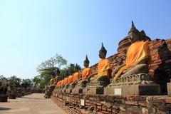 Wat Yai Chai Mongkol Royalty Free Stock Images