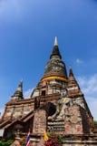 Wat Yai Chai Mongkol Temple imagen de archivo libre de regalías