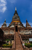Wat Yai Chai Mongkol Temple Royalty Free Stock Photo