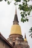 Wat Yai Chai Mongkon Foto de Stock