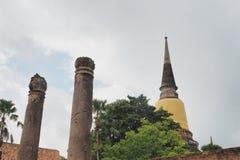 Wat Yai Chai Mongkon Imagem de Stock Royalty Free