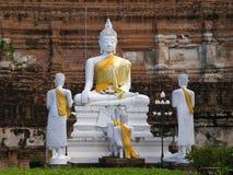 Wat Yai Chai Mongkon in Ayutthaya Royalty Free Stock Photo