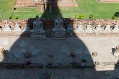 Wat Yai Chai Mongkon. A Buddhist temple in Ayuttaya Thailand Royalty Free Stock Photography