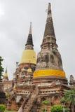 Wat Yai Chai Mongkon. A Buddhist temple in Ayutthaya, Thailand Royalty Free Stock Image