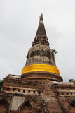 Wat Yai Chai Mongkon. A Buddhist temple in Ayutthaya, Thailand Royalty Free Stock Images