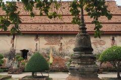 Wat Yai Chai Mongkon. A Buddhist temple in Ayutthaya, Thailand Stock Image