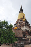 Wat Yai Chai Mongkon. A Buddhist temple in Ayutthaya, Thailand Stock Images