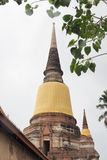 Wat Yai Chai Mongkon. A Buddhist temple in Ayutthaya, Thailand Stock Photo