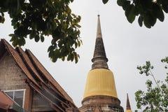 Wat Yai Chai Mongkon. A Buddhist temple in Ayutthaya, Thailand Royalty Free Stock Photos