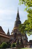 Wat Yai Chai Mongkon. The main stupa of Wat Yai Chai Mongkon, a Buddhist temple in Ayuttaya, Thailand Royalty Free Stock Photos