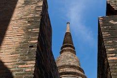 Wat Yai Chai Mongkon. The ruins of Wat Yai Chai Mongkon, a Buddhist temple in Ayuttaya, Thailand Stock Photo