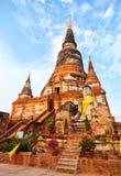 Wat Yai Chaimongkhon, Ayuthaya Royalty Free Stock Photo