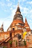 Wat Yai Chaimongkhon, Ayuthaya Royalty Free Stock Images