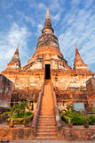 Wat Yai Chaimongkhon, Ayutthaya Royalty Free Stock Photos