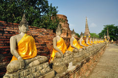 Wat Yai Chaimongkhon Stock Photo