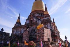 Wat Yai Chaimongkol Stockbild