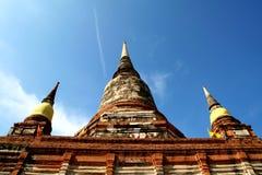 Wat Yai Chaimongkol, Ayudhaya, Thailand Royalty Free Stock Photo