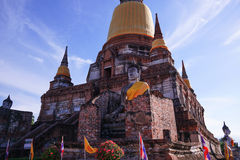 Wat Yai Chaimongkol Stock Image