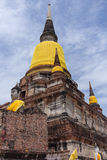 Wat Yai Chaimongkol Royalty Free Stock Photography