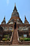 Wat Yai Chaimongkol   Ayutthaya Thailand Royalty Free Stock Photos