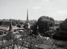 Wat Yai Chaimongkol temple in Ayutthaya. Thailand Royalty Free Stock Images