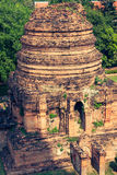 Wat Yai Chaimongkol temple in ayutthaya Thailand Stock Photo