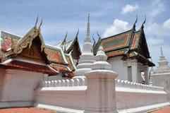Wat Yai Suwannaram, Phetchaburi, Tailandia Fotografia Stock Libera da Diritti