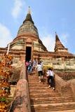 Wat Yaichaimongkol immagini stock libere da diritti