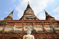 Wat Yaichaimongkol Royalty Free Stock Photo