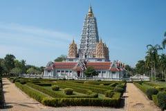 Wat Yan Śpiewał Wararam Woramahawihan świątynię, Tajlandia Zdjęcie Stock