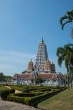 Wat Yan Śpiewał Wararam Woramahawihan świątynię, Tajlandia Obraz Royalty Free