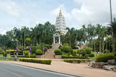 Wat Yan buddhist temple in Pattaya, Thailand Royalty Free Stock Photo