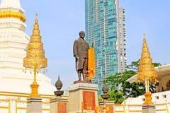 Wat Yan Nawa Bangkok, Thailand Royaltyfria Bilder