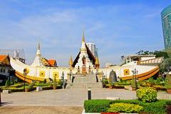 Wat Yan Nawa Bangkok, Thailand Fotografering för Bildbyråer