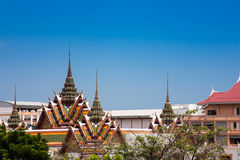 Wat Yannawa jest starym Buddyjskiej świątyni watem zdjęcie stock