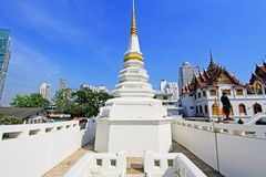 Wat Yan Nawa, Bangkok, Thailand. Wat Yannawa is an old Buddhist temple dating back to the Ayutthaya period, located in the Sathon district of Bangkok on Charoen Stock Photography