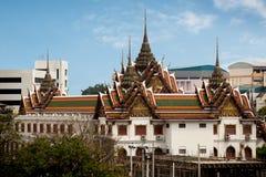 Wat Yannawa Temple é um templo budista antigo, situado no qui foto de stock royalty free